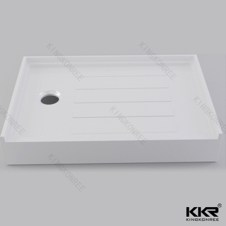 Custom Resin Bathroom Shower Tray KKR-T018-R