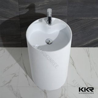 Solid Surface Freestanding Basin KKR-1380