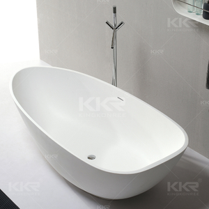 White Solid Surface Baths KKR-B084