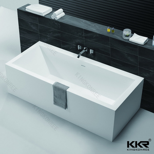 Rectangle artificial stone bathtub KKR-B060