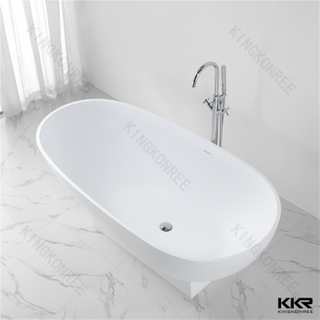 Freestanding resin bathtub KKR-B021