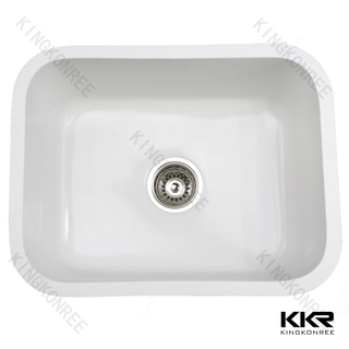Faux Stone Undermount Sink KKR-MC04