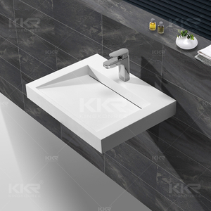 Stone Resin Wall Hung Basin KKR-1260