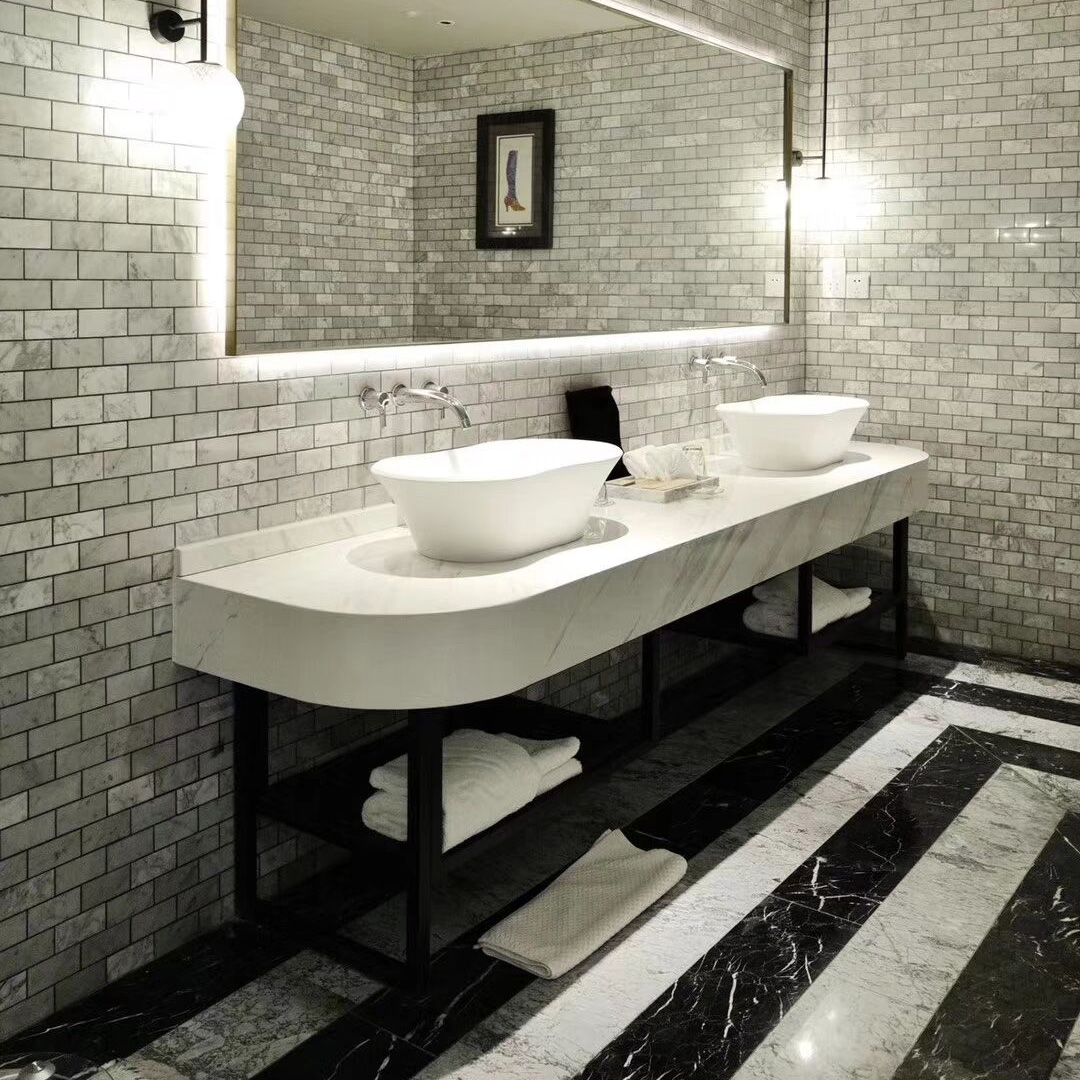 What are the steps to customize the suitable wash basins?