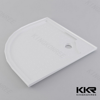 Artificial Stone Resin Shower Base KKR-T013