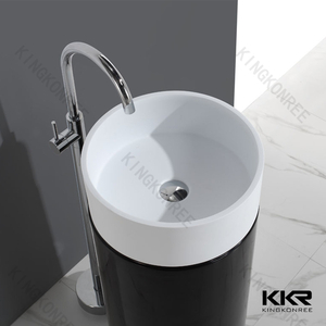 European Round Stone Wash Basin KKR-1386